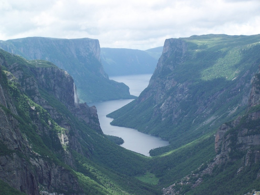 Western Brook Pond in Gros Morne National Park