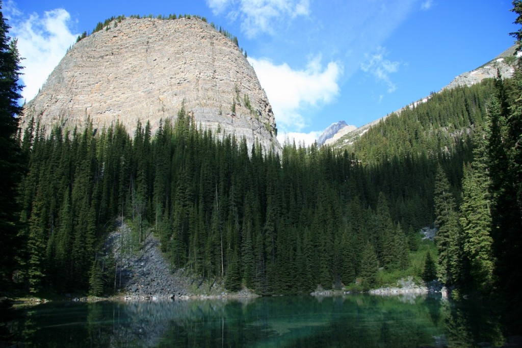 The Big Beehive at Lake Louise in Alberta