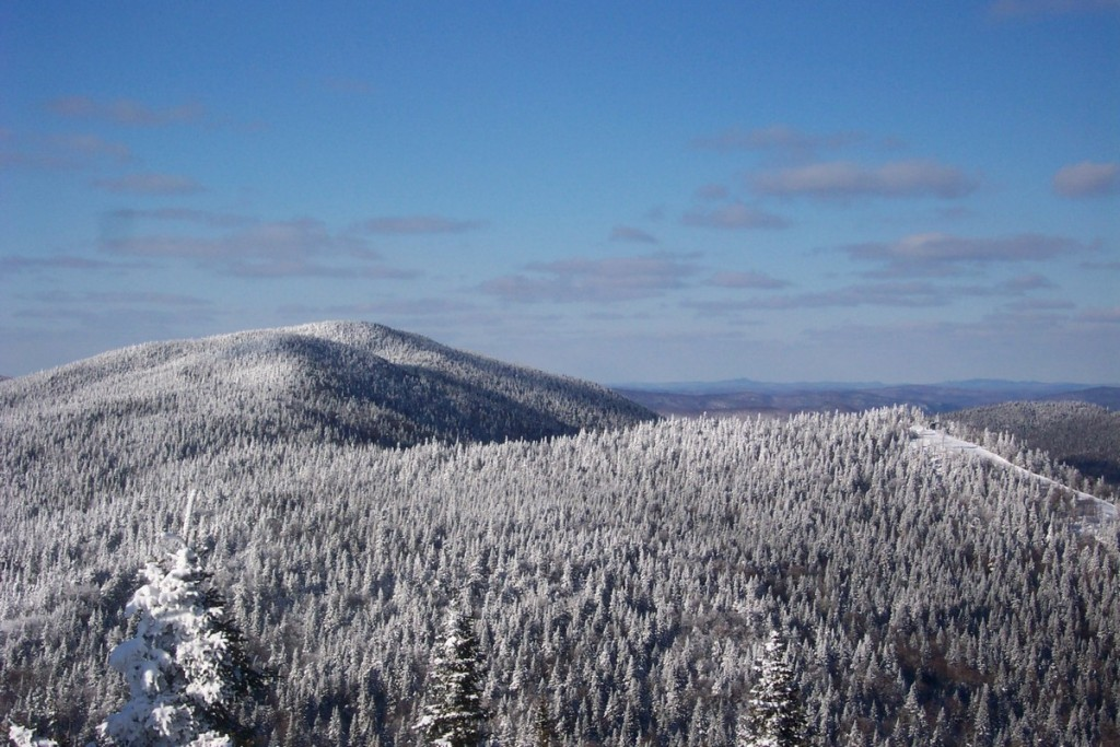 Winter up at Mont Tremblant