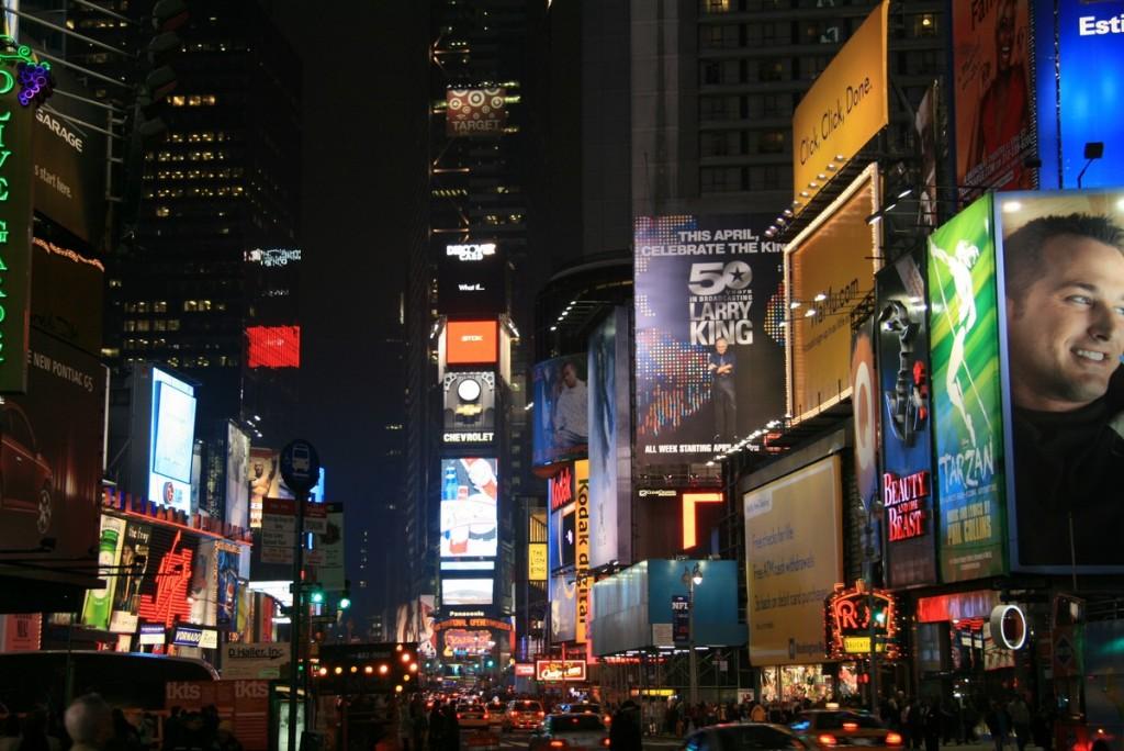 Times Square. Nuff said
