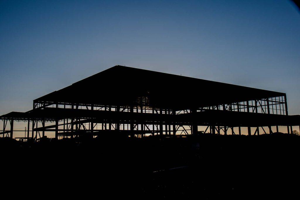 Constrcution of the carpenter's training facility in Ottawa