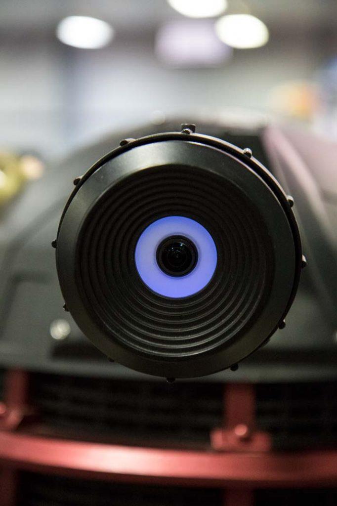 Eye to eye with a deadly Dalek